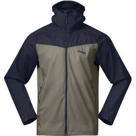 Bergans Microlight Jacket Men green mud/dark navy